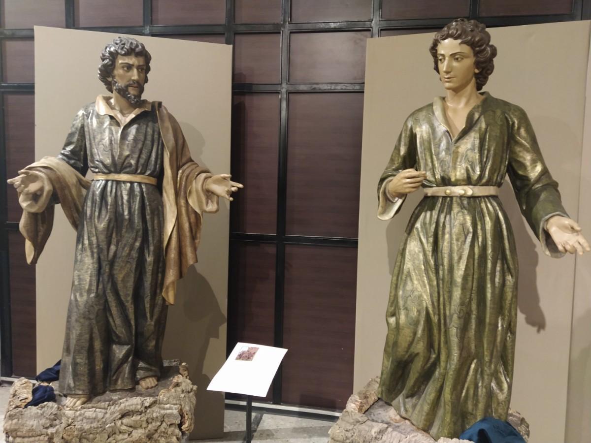 """EXPOSICIÓN """"LOS APÓSTOLES DE JESÚS"""" EN LA SEMANA SANTA DE CIEZA."""